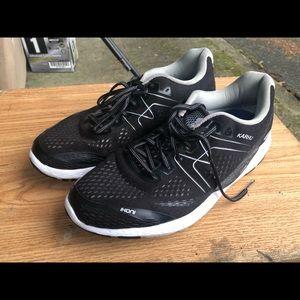 Kathy Ikoni Ortix Men's Black Sneakers Size 9.5